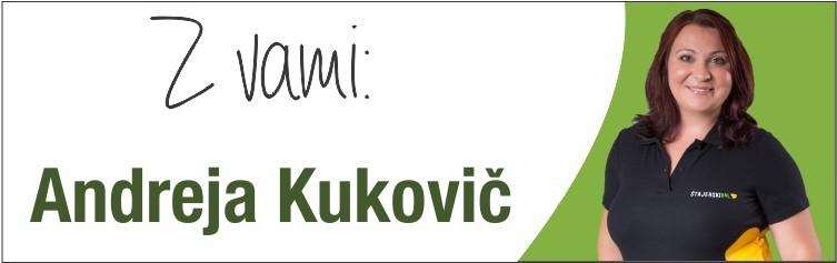 VODITELJICA ANDREJA KUKOVIČ