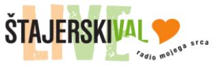 Štajerski val, logo, live